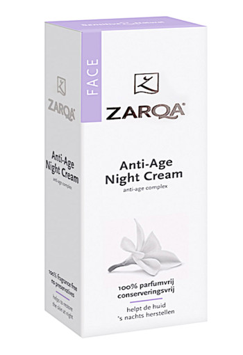 Zarqa Face nachtcreme anti age (50 ml)