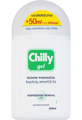 Chilly Intiemverzorging gel pomp (300 ml)