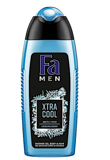 FA Men douchegel extreme cool (250 ml)
