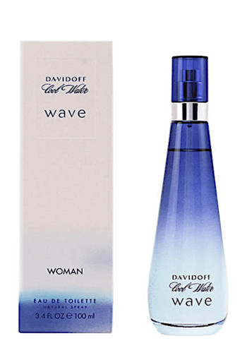 Davidoff Cool water wave women eau de toilette (100 ml)