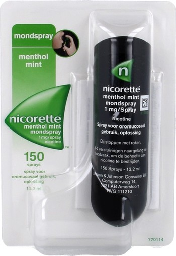 Nicorette Fruit mint spray (13.2 ml)