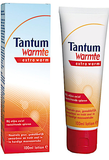 Tantum Warmte lotion - extra warm 100 ml