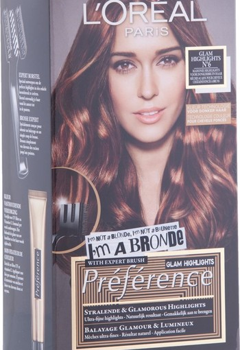 Loreal Preference glam highlights 6 (1 set)