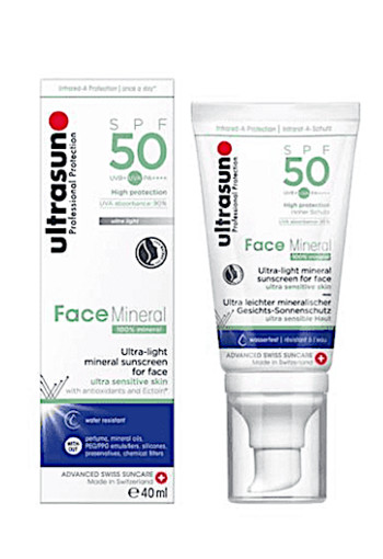 Ultrasun Face mineral SPF50 (40 ml)