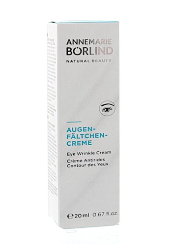 ANNEMARIE BÖRLIND  Anti-Oogrimpelcrème 20 ml