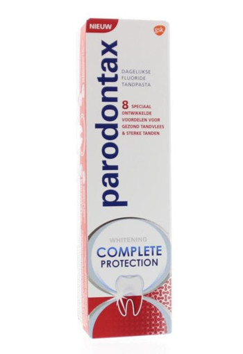 Parodontax Tandpasta complete protection whitening (75 ml)