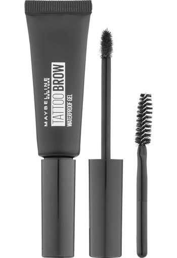 Maybelline Tattoo Brow Waterproof Wenkbrauwgel 07 Black Brown 7 ml