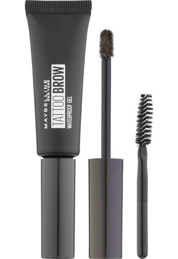 Maybelline Tattoo Brow Waterproof Wenkbrauwgel 08 Black 7 ml