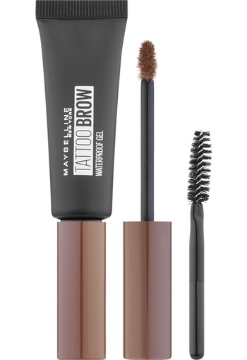 Maybelline Tattoo Brow Waterproof Wenkbrauwgel 04 Medium Brown 7 ml