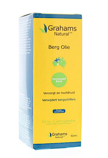 Grahams Berg olie (50 ml)
