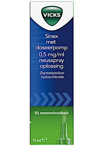 Vicks Sinex neus­spray met do­seer­pomp  10 ml