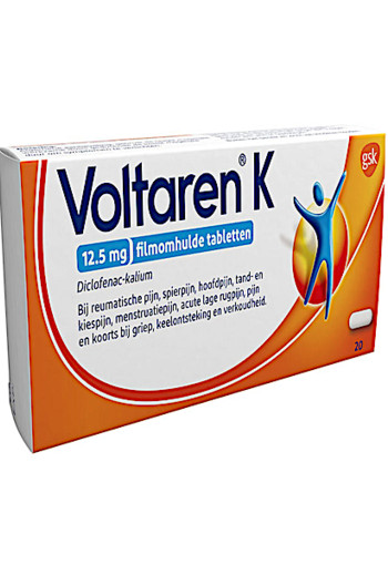 Vol­ta­ren K ta­blet­ten 12,5 mg 20 stuks