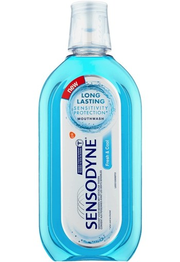 Sensodyne Fresh & Cool Long Lasting Mondwater 500 ml