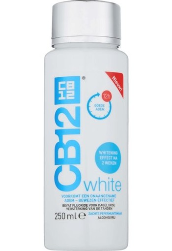CB12 Mondverzorging white (250 ml)