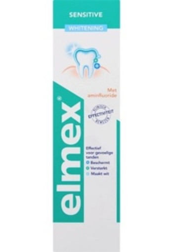 Elmex Sensitive Whitening Tandpasta 75ml