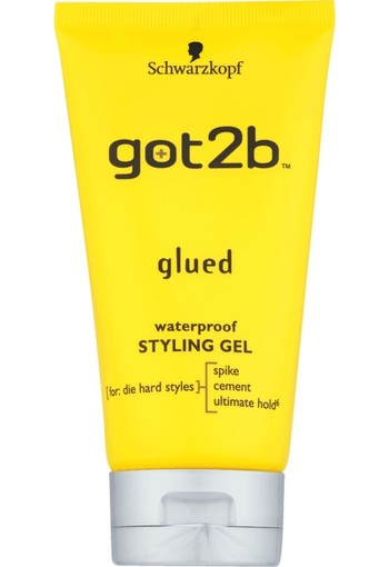 Schwarzkopf Got2b Glued Waterproof Styling Gel 150 ml