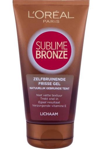 L'Oréal Paris Sublime Zelf Bruinende Gel