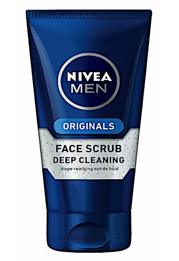 Nivea Men Deep Clean Face Scrub 75ml