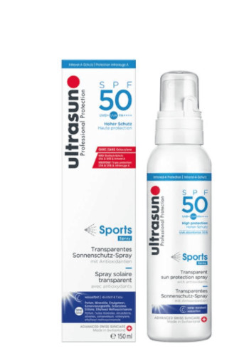 Ultrasun Sports spray SPF50 (150 ml)