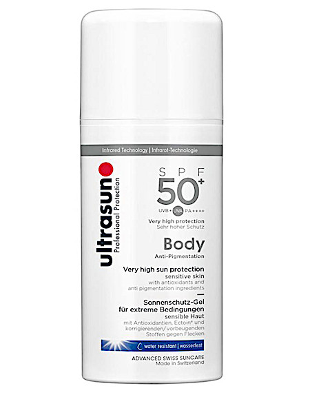 Ultrasun Anti pigmentation body SPF50 (100 ml)
