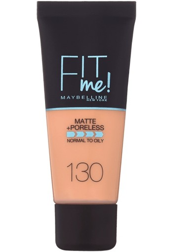 Maybelline - Fit Me Matte & Poreless - 130 Buff Beige - Foundation SPF18
