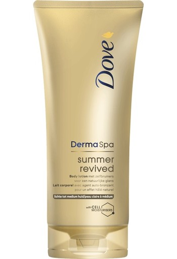 Dove Derma Spa Body Lotion Summer Fair 200ml