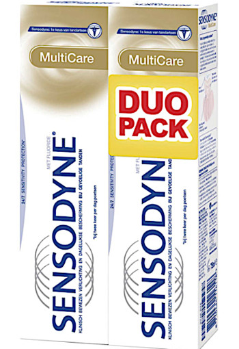 Sen­so­dy­ne Mul­ti­ca­re duo tand­pas­ta 2 x 75 ml