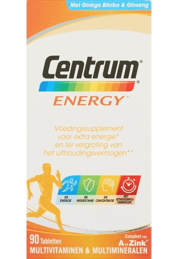 Centrum Energy Tabletten 90st