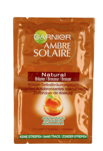 Garnier Ambre solaire no trace body wipes (11.2 ml)