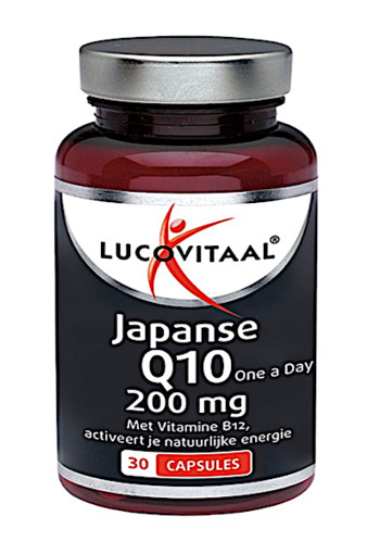 Lucovitaal Q10 200 mg Japans (30 capsules)