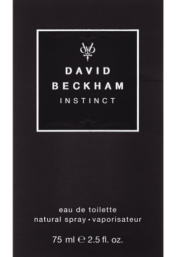 David Beckham Instinct Men Eau De Toilette For Him 75 ml