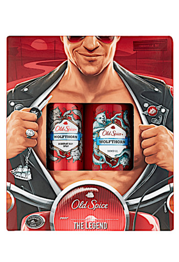 Old Spice Wolfthorn Deodorant Spray + Douchegel