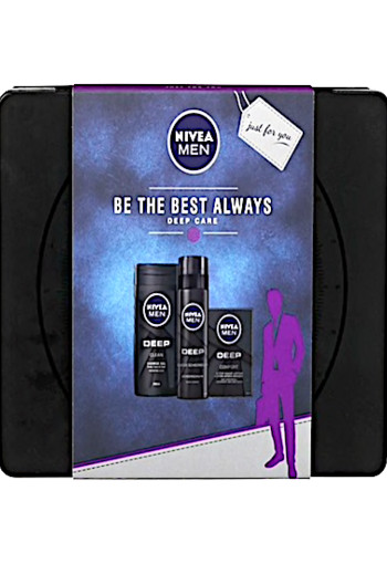 NIVEA Men Be The Best Always Deep Care Geschenkset.