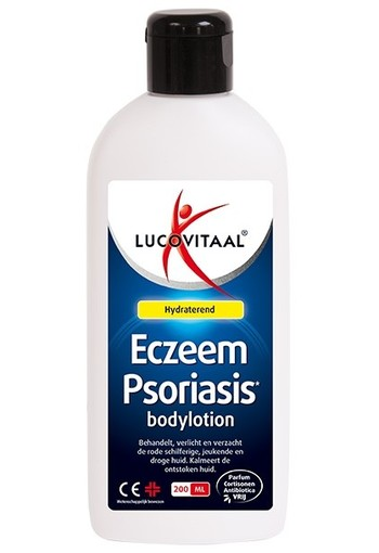 Lucovitaal Eczeem psoria body lotion (200 ml)