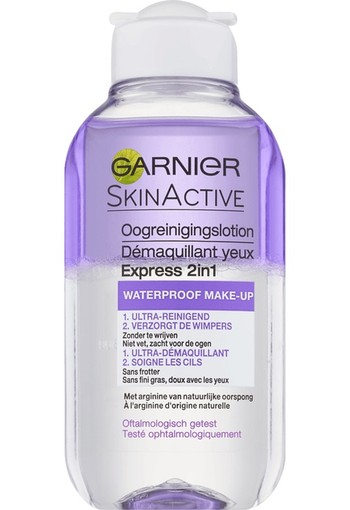 Garnier Skin Naturals Express 2-in-1 Reinigingslotion 125 ml
