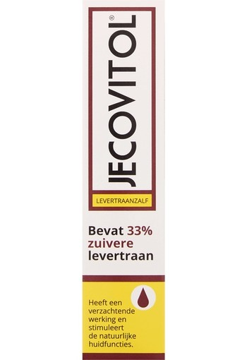 Jecovitol Levertraanzalf - 30 gr - Bodycrème