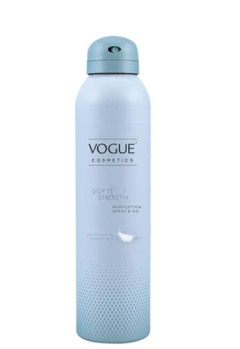 Vogue Cosmetics Bodylotion spray & go soft & smooth (200 ml)
