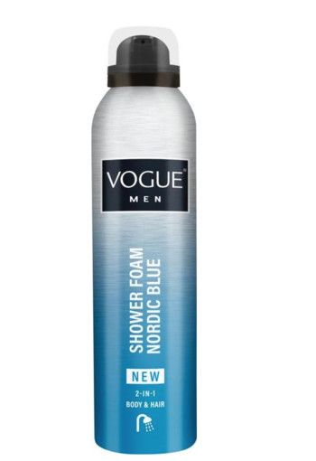 Vogue Men nordic blue shower foam (200 ml)