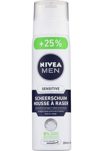 Nivea Men scheerschuim sensitive (250 ml)