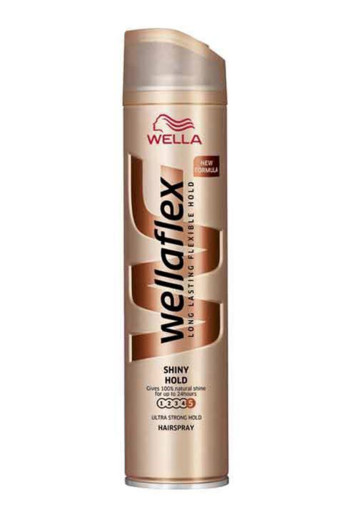 Wella Flex hairspray shine ultra strong hold (250 ml)