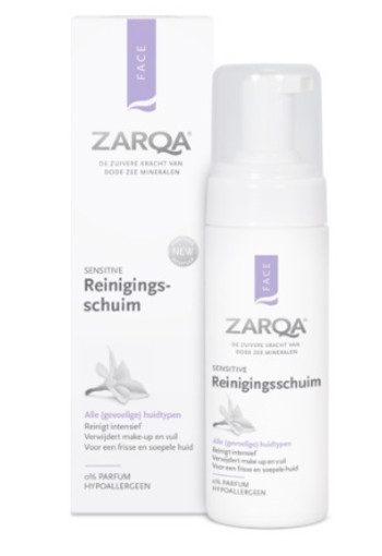 Zarqa Face reinigingsschuim sensitive (150 ml)
