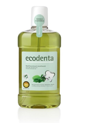 Ecodenta Mondwater multifunctioneel (500 ml)