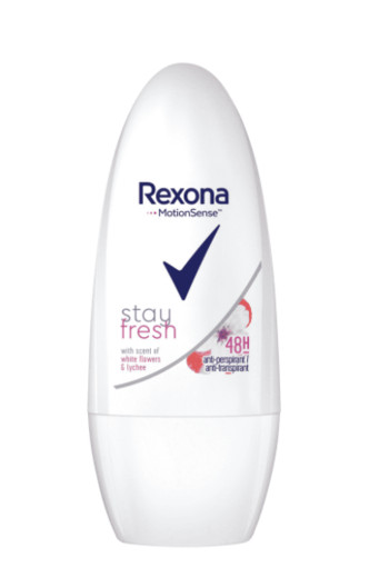 Rexona Deo roller white flower (50 ml)