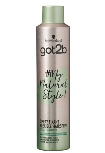 Schwarzkopf Got2Be My Natural Style Flexible Hairspray 300 ml