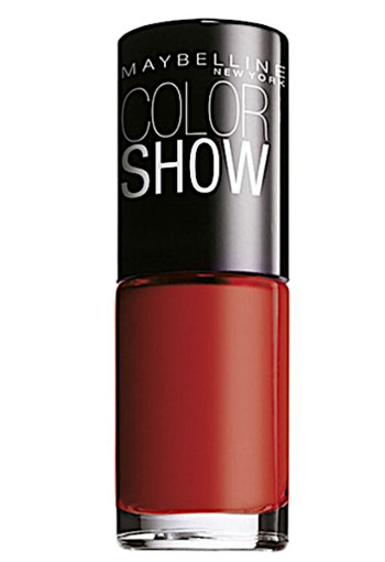 May­bel­li­ne New York Co­lor show na­gel­lak 352 down­to­wn red