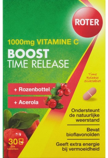 Roter Vitamine C 1000 mg Boost Time Release 30 Tabletten