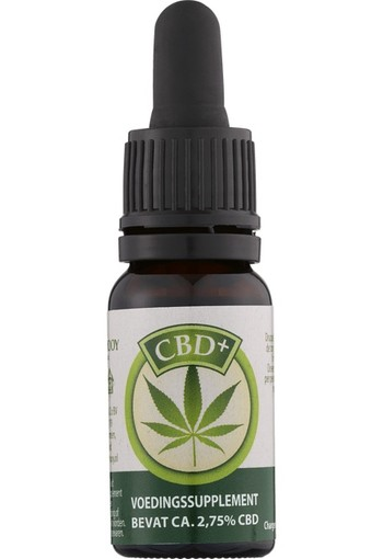 Jacob Hooy CBD Plus olie 10 ml