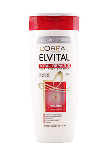 Loreal Elvive shampoo total repair 5 (300 ml)
