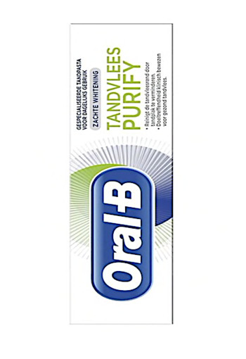 Oral-B Purify Zachte Whitening Tandpasta 75 ml