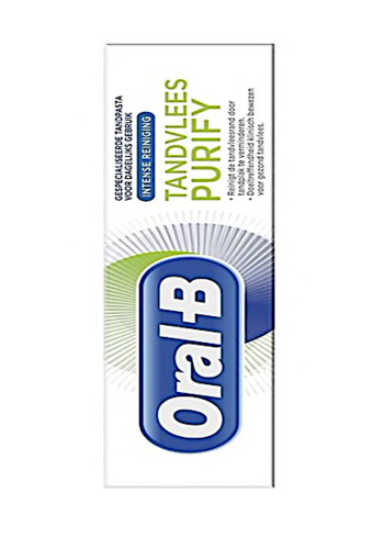 Oral-B Purify Intense Reiniging Tandpasta 75 ml